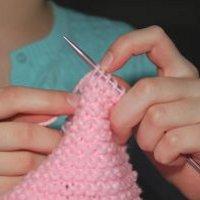 Как связать шарф-хомут