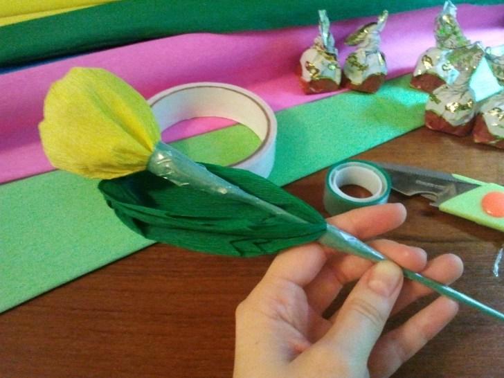 Листья от тюльпанов своими руками 43