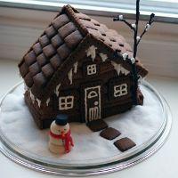 Рецепт пряничного домика