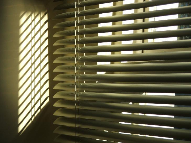 Как сделать эффект свет жалюзи