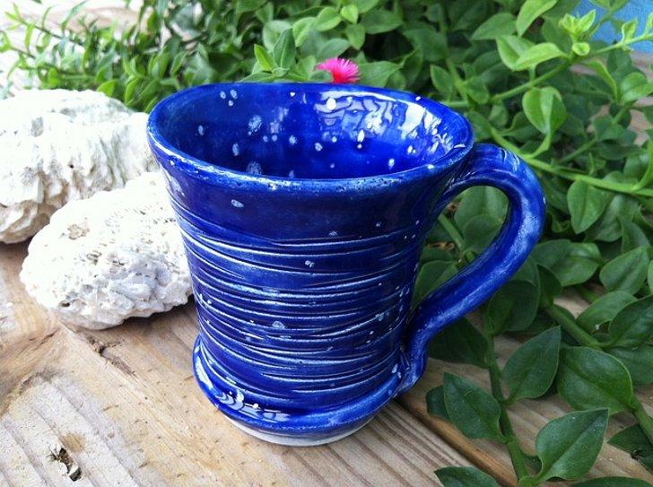 тайский чай синего цвета