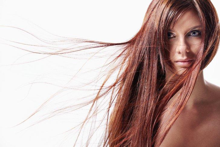 Как правильно надевать волосы на заколках