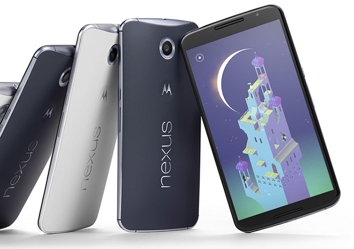 Google Nexus 6 будет доступен в цветах Midnight Blue и Cloud White