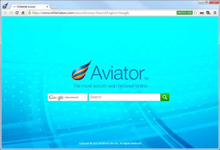 Браузер WhiteHat Aviator