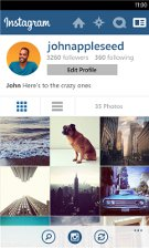 Instagram BETA для WP8