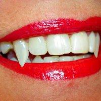 Зубы как у вампира своими руками