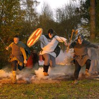 Фестиваль викингов во Фредериксунде