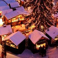 Рождественская ярмарка в Дюссельдорфе