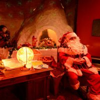 Рождественская ярмарка в Женеве