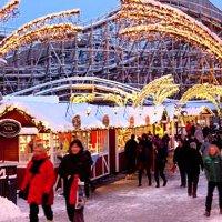 Рождественская ярмарка в Гётеборге