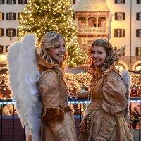 Рождественская ярмарка в Инсбруке