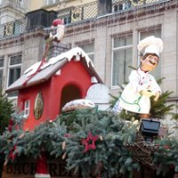 Рождественская ярмарка Striezelmarkt в Дрездене
