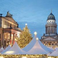 Ярмарка Weihnachtszauber Gendarmenmarkt в Берлине