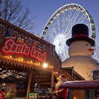 Рождественская ярмарка в Лондоне Winter Wonderland