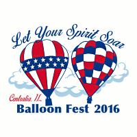 Фестиваль воздушных шаров в Централии