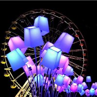 Фестиваль света в Шартре