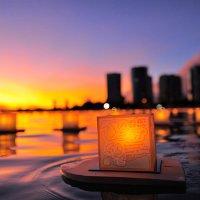 Фестиваль плавающих фонариков на Гавайях
