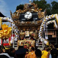 Фестиваль «Нада-но кэнка» в Японии