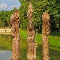 Международный фестиваль деревянных скульптур «Киевская Русь»