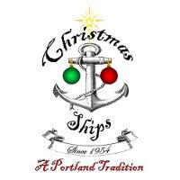 Парад рождественских кораблей в Портленде