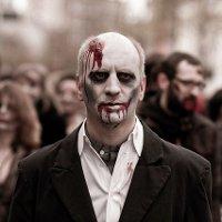Парад зомби в Киеве