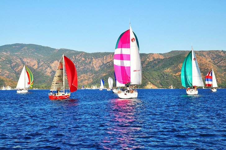 Парусная регата в Мармарисе Marmaris International Race Week